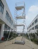 Le GV a reconnu l'échafaudage en aluminium mobile de 12m pour la maintenance