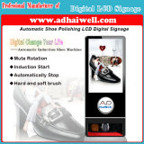 De automatische Oppoetsende Machine van de Schoen van de Inductie - Digitale Signage Elektronische Signage voor Zaken