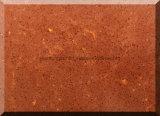 純粋なベージュカラー水晶石、設計された水晶石の平板
