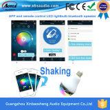 APP van de Spreker van draadloze Slimme LEIDENE Bluetooth van de Gloeilamp Controle