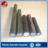 Gaz de HDPE fournissant l'extrudeuse solide de pipe à vendre