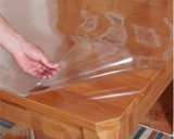 Мягкая крышка таблицы PVC ясности