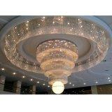 Iluminação moderna do projeto do candelabro da lâmpada da decoração do hotel