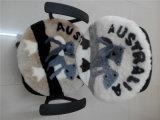 Ammortizzatore rotondo del Lambskin del ricordo australiano con il reticolo del Koala