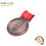 Kundenspezifische Bronzezink-Legierungs-Medaillen Ym1167