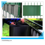 cerca dura do jardim do PVC de 100%Anti-UV Ral6005 19cm*2.525m