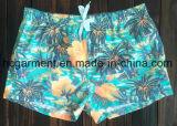 A tela de Mose embarca Shorts, Shorts impressos forma da praia do homem