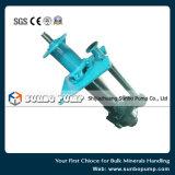 Bomba centrífuga vertical alinhada borracha da pasta da Desgastar-Corrosão da fábrica de China