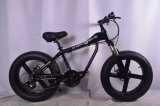 Bici eléctrica de montaña de la bici de la playa del neumático gordo modelo retro del crucero