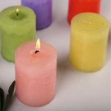 Hotsale中国カラーワックスOEMのラベルの蝋燭