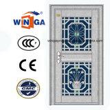 よい価格のStainlesssの鋼鉄機密保護の鉄の金属のドア(W-GH-29)