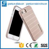 Caja del teléfono celular del defensor de la armadura de la fabricación para el iPhone 6/6plus