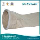 Sacchetto filtro del poliestere del filtrante dell'accumulazione di polvere