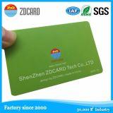 Cartão esperto sem contato do controle de acesso plástico CI da manufatura RFID
