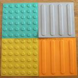 Новые плитки пола пластичного материала для тактильных плиток системы