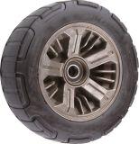 410/350-6黒いPUはタイヤ手押し車の泡立った