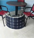 중국 PV 제조자 Sunpower 단청 많은 유연한 태양 전지판 100W 중국제
