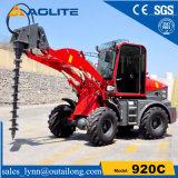 1ton工場低価格の販売のための小さい小型トラクターのローダー