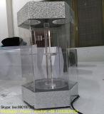Vitrine tournante en acrylique polyvalente à 3 niveaux