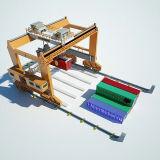 ポートのヤードの使用のレール敷の容器のガントリークレーン
