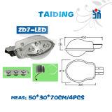 Indicatore luminoso esterno caldo della strada dell'indicatore luminoso di via dell'indicatore luminoso di via di alta efficienza LED di prezzi bassi di vendita Zd7 LED