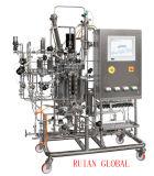 Depósito de fermentación biológico automático de la fermentadora de la fermentadora del laboratorio de las bacterias del acero inoxidable