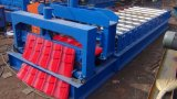 Dx corrugou o rolo da telhadura do metal que dá forma à máquina
