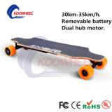 Deutschland-auf lager entfernbare Batterie-elektrisches Skateboard mit Rad 4