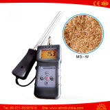 Ms-W Digital Fibres de bois Shaves Bark Biological Particles Moisture Meter