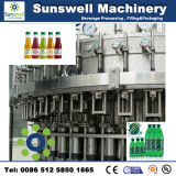 Máquina de rellenar carbónica (DCGF24-24-8) para la fábrica de la bebida