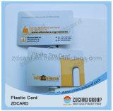 Scheda astuta senza contatto del regalo stampata PVC CI della plastica