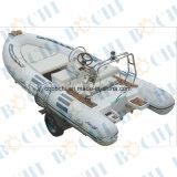 Barco inflável engraçado da câmara de ar do diâmetro do certificado 50mm do Ce