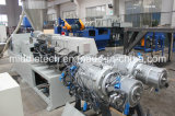 UPVC/PVC 2 구멍 관 또는 관 생산 라인