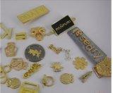 Ярлык ткани металла логоса цинка выбитый сплавом изготовленный на заказ