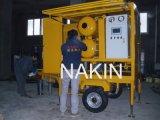 De de beweegbare Schoonmakende Installatie van de Olie van de Transformator van het Type van Aanhangwagen/Zuiveringsinstallatie van de Regeneratie van de Olie
