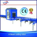 Machine de découpage de flamme de plasma de commande numérique par ordinateur de profils pour l'acier inoxydable/aluminium