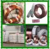 溶接ワイヤを保護する白くおよび黒いプラスチックスプールの固体ガス