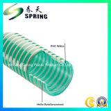 Belüftung-Plastik verstärkter gewundene Hochleistungsabsaugung-gewölbter Schlauch mit guter Qualität