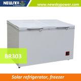 O melhor congelador solar de venda do refrigerador da C.C. do congelador energy-saving de 50%