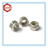 Noix en nylon de nylon d'acier inoxydable d'écrou de blocage de Ss304 DIN985