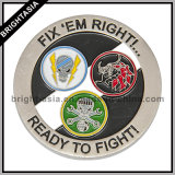 Army (BYH-10807)のためのカスタムAmeican Challenge Coin
