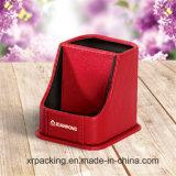 Новая шикарная лидирующая коробка ткани кожаный бумаги PU таможни