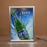 Anzeigen-Media-heller Kasten des hohe Helligkeits-ultra dünne Aluminium-Verschluss-Rahmen-LED