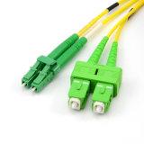 Corde de pièce rapportée Sc-LC Om4 duplex à plusieurs modes de fonctionnement