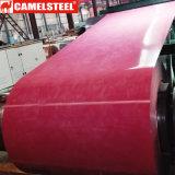 Galvanizado material de cubierta en relieve de mármol patrón de la bobina de acero prepintado