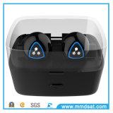 O fone de ouvido sem fio de Bluetooth gancho duplo o mais atrasado da orelha do estilo D900s do mini para esportes