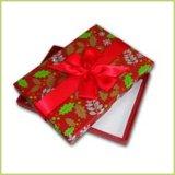 부대를 가진 분홍색에 의하여 인쇄되는 가게 선물 상자