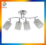 食堂の天井ランプのためのシンプルな設計の水晶シャンデリア