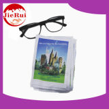 Micorfiber Cleaning Cloth para Eyewear com Silk Print