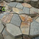 外部のNatural Stone Pavement Rustic Slate Flagstone (S015無作法なスレート)